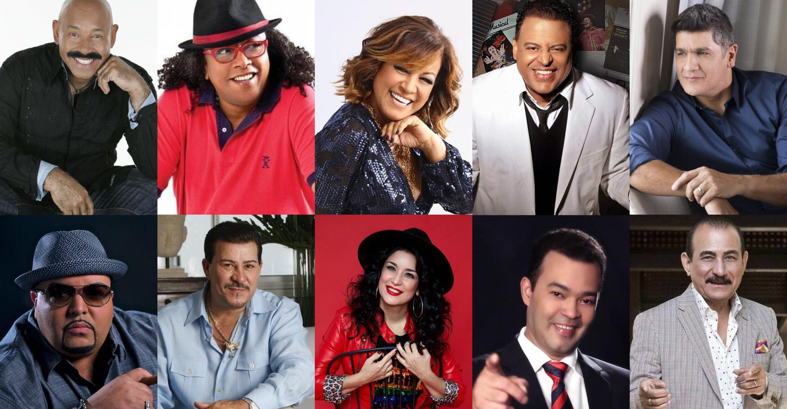 Great tropical artists participated in the tribute