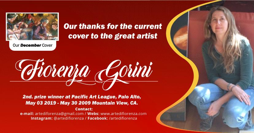 Thanks to the artist Fiorenza Gorini