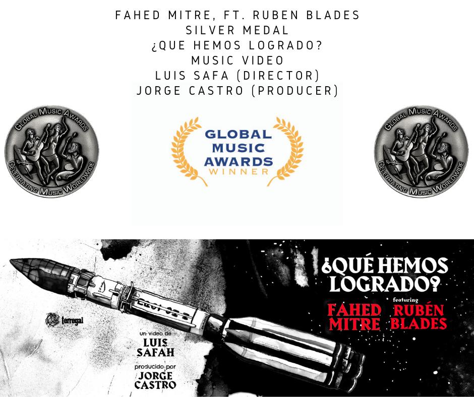"""""""Qué hemos logrado"""" wins a silver medal."""