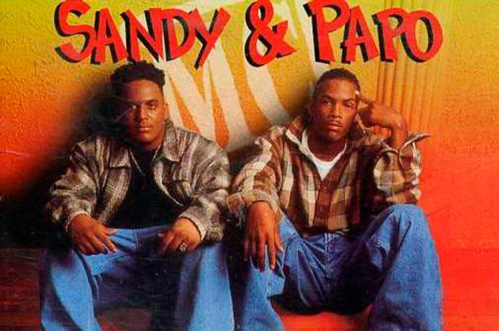 Sandy & Papo was one of the first urban groups.
