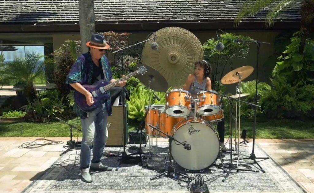 Carlos Santana in Peace Through Music