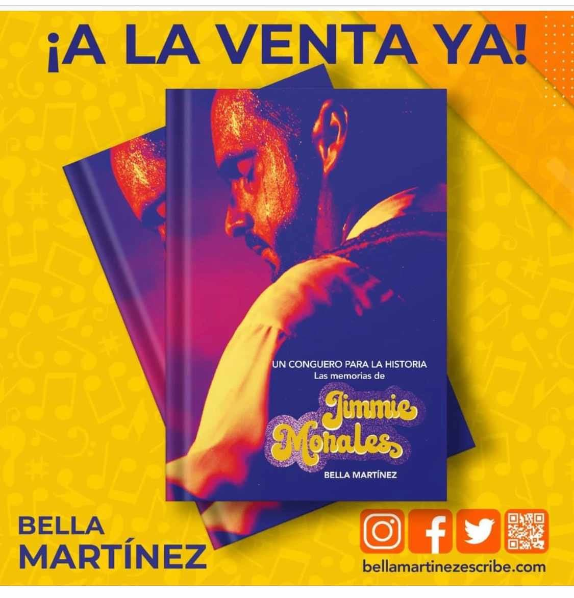 Bella Martínez wrote a book about Jimmie Morales