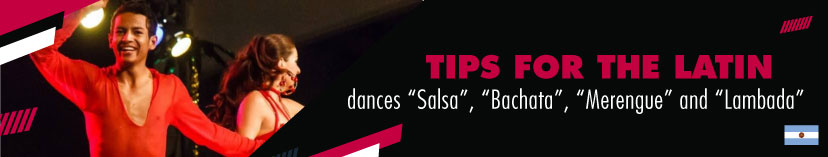 Tips for the Latin dances