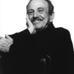 "Arturo ""Chico"" O'Farrill seated and in black and white"