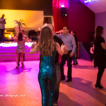 Couple dancing at Hanmer Salsa Winter Fest 2021