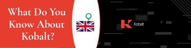 Banner rojo y negro con el logo actual de Kobalt