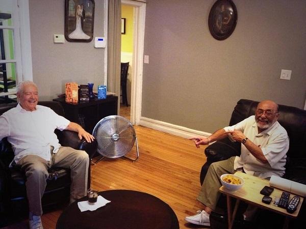 Ray Santos y Eddie Palmieri